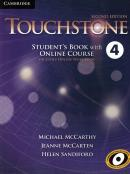 TOUCHSTONE 4 SB WITH ONLINE COURSE - INCLUDES ONLINE WORKBOOK - 2ND ED