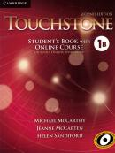 TOUCHSTONE 1B STUDENT´S BOOK WITH ONLINE COURSE AND ONLINE WORKBOOK - 2ND ED