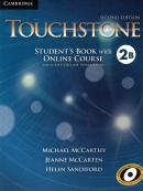 TOUCHSTONE 2B STUDENT´S BOOK WITH ONLINE COURSE AND ONLINE WORKBOOK - 2ND ED
