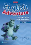 NEW ENGLISH ADVENTURE 1 SB WITH WB - 1ST ED