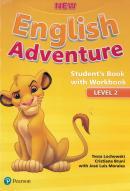 NEW ENGLISH ADVENTURE 2 SB WITH WB - 1ST ED