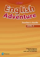 NEW ENGLISH ADVENTURE 4 TB - 1ST ED