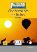 CINQ SEMAINES EN BALLON NIVEAU 1 - 2ª ED