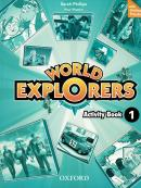 WORLD EXPLORERS 1 AB WITH ONLINE PRACTICE - 1ST ED