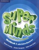 SUPER MINDS AMERICAN ENGLISH LEVEL 1 WORKBOOK WITH ONLINE RESOURCES - 1ST ED