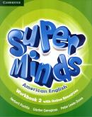 SUPER MINDS AMERICAN ENGLISH 2 WORKBOOK WITH ONLINE RESOURCES - 1ST ED
