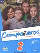 NUEVO COMPANEROS 2 - LIBRO DEL ALUMNO CON 2  CDS AUDIO Y LICIENCIA DIGITAL - EDICION BRASIL