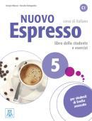 NUOVO ESPRESSO 5 LIBRO STUDENTE E ESERCIZI  + CD AUDIO C1