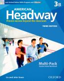 AMERICAN HEADWAY 3B MULTI-PACK - 3RD ED