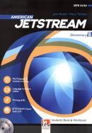 AMERICAN JETSTREAM ELEMENTARY SB/WB B + AUDIO CD + E-ZONE