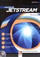 AMERICAN JETSTREAM ELEMENTARY SB/WB A + AUDIO CD + E-ZONE