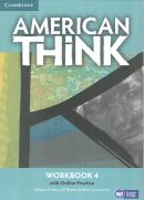 AMERICAN THINK 4 WORKBOOK WITH ONLINE PRACTICE - 1ST ED