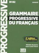GRAMMAIRE PROGRESSIVE DU FRANCAIS - NIVEAU AVANCE - LIVRE + CD AUDIO - 2ª ED
