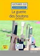 GUERRE DE BOUTONS, LA + CD AUDIO NIEVAU 1 - 2ª ED