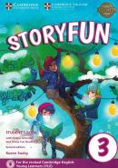 STORYFUN FOR MOVERS 3 STUDENT´S BOOK WITH ONLINE ACTIVITIES AND HOME FUN BOOKLET 3 - 2ND ED