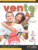 VENTE A2 - LIBRO DEL ALUMNO + AUDIO DESCARGABLE