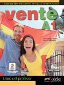 VENTE A1 - LIBRO DEL PROFESOR + CD AUDIO