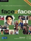 FACE2FACE ADVANCED STUDENT´S BOOK WITH DVD-ROM AND ONLINE WORKBOOK PACK - 2ND ED