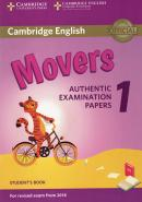 CAMBRIDGE ENGLISH YOUNG MOVERS 1 FOR REVISED EXAM FROM 2018 STUDENT´S BOOK