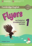 CAMBRIDGE ENGLISH YOUNG FLYERS 1 FOR REVISED EXAM FROM 2018 STUDENT´S BOOK