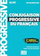 CONJUGAISON PROGRESSIVE DU FRANCAIS - NIVEAU INTERMEDIAIRE - LIVRE + CD AUDIO - 2E ED