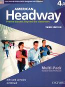 AMERICAN HEADWAY 4A MULTIPACK WITH ONLINE SKILLS - 3RD ED