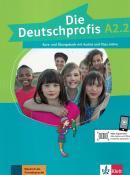 DIE DEUTSCHPROFIS A2.2 KURS- UND UBUNGSBUCH MIT AUDIOS UND CLIPS ONLINE