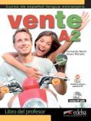 VENTE A2 - LIBRO DEL PROFESSOR + CD AUDIO