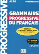 GRAMMAIRE PROGRESSIVE DU FRANCAIS - NIVEAU INTERMEDIAIRE - LIVRE + CD + LIVRE-WEB - 4ª ED