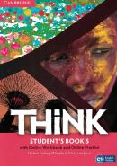 THINK 5 STUDENT´S BOOK WITH ONLINE WORKBOOK AND ONLINE PRACTICE - 1ST ED