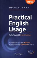 PRACTICAL ENGLISH USAGE, PAPERBACK WITH ONLINE ACCESS - 4TH ED