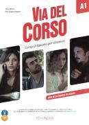 VIA DEL CORSO A1 LIBRO DELLO STUDENTE ED ESERCIZI + AUDIO 2CD + DVD VIDEO