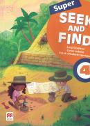SUPER SEEK AND FIND 4 STUDENT´S BOOK AND DIGITAL PACK - 2ND ED