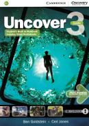 UNCOVER 3 FULL COMBO WITH ONLINE WORKBOOK AND ONLINE PRACTICE - 1ST ED