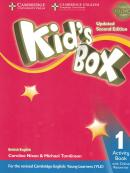 KIDS BOX 1 ACTIVITY BOOK WITH ONLINE RESOURCES - BRITISH - UPDATED 2ND ED