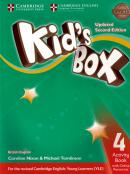 KIDS BOX 4 ACTIVITY BOOK WITH ONLINE RESOURCES - BRITISH - UPDATED 2ND ED