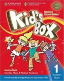 KIDS BOX AMERICAN ENGLISH 1 STUDENT´S BOOK - UPDATED 2ND ED