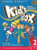 KIDS BOX AMERICAN ENGLISH 2 STUDENT´S BOOK - UPDATED 2ND ED