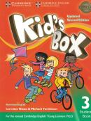 KIDS BOX AMERICAN ENGLISH 3 STUDENT´S BOOK - UPDATED 2ND ED