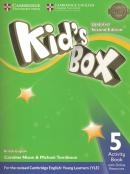 KIDS BOX 5 ACTIVITY BOOK WITH ONLINE RESOURCES - BRITISH - UPDATED 2ND ED