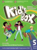 KIDS BOX 5 PUPIL´S BOOK - BRITISH - UPDATED 2ND ED