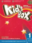 KIDS BOX AMERICAN ENGLISH 1 WORKBOOK WITH ONLINE RESOURCES - UPDATED 2ND ED
