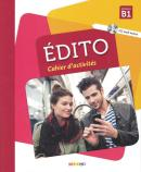 EDITO B1 CAHIER D´EXERCICES + CD MP3 - 2EME ED