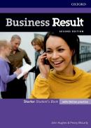 BUSINESS RESULT STARTER STUDENT´S BOOK WITH ONLINE PRACTICE - 2ND ED