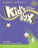 KIDS BOX AMERICAN ENGLISH 6 WORKBOOK WITH ONLINE RESOURCES - UPDATED 2ND ED