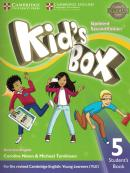 KIDS BOX AMERICAN ENGLISH 5 STUDENT´S BOOK - UPDATED 2ND ED
