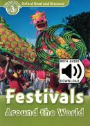 FESTIVALS AROUND THE WORLD WITH AUDIO PACK - LEVEL 3