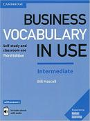 BUSINESS VOCABULARY IN USE INTERMEDIATE BOOK WITH ANSWERS AND ENHANCED EBOOK - 3RD ED