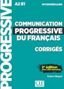 COMMUNICATION PROGRESSIVE DU FRANCAIS - NIVEAU INTERMEDIAIRE - CORRIGES - NOUVELLE COVERTURE 2ª ED