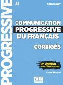 COMMUNICATION PROGRESSIVE DU FRANCAIS - NIVEAU DEBUTANT - CORRIGES - 2ª ED